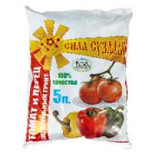 """Питательный грунт """"Сила суздаля"""" томат и перец 5 л"""