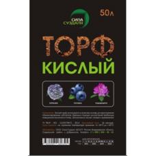 """""""Сила суздаля"""" торф кислый 50 л"""